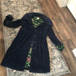 Tull long cordouroy coat
